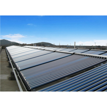High temperature heat pipe solar collector