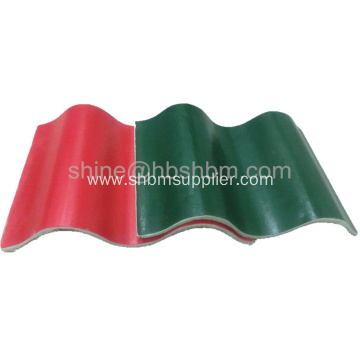 """Iron crown"" Fireproof Mgo Roofing Sheet"