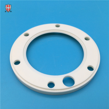 precision drilling milling alumina ceramic ring customized