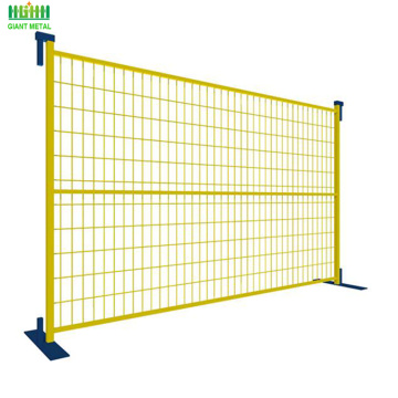 8ft used canada temporary fence for sale