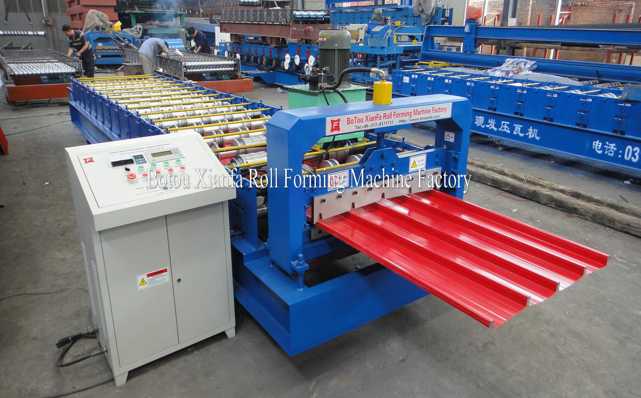 Since lock forming machine