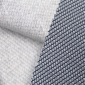 Linen / Cotton blended fabric with small rhomboid