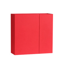New Design Distinctive Matt Red Double Door Box