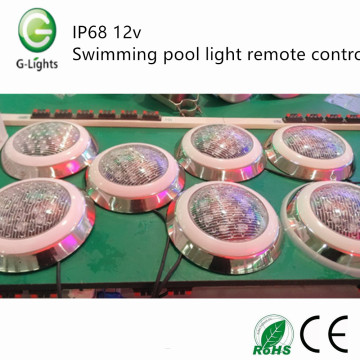 IP68 12v swimming pool light remote control