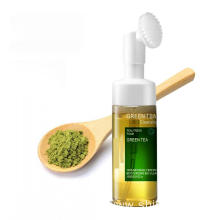 OEM/ODM Natural Green tea Face Cleanser Foam