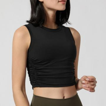 Women sport dance crop top