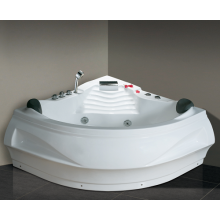 2 Person Stand Alone Whirlpool Bath Tub White