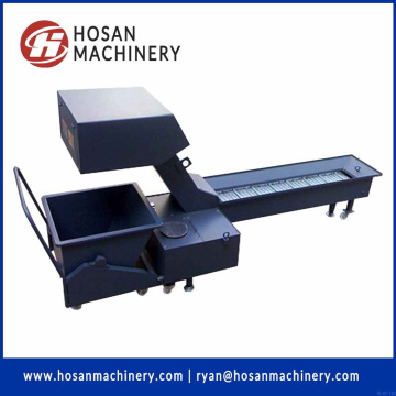 Hinged Belt Type Screw Chip Conveyor