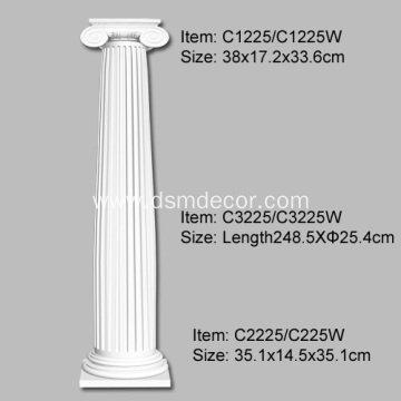 Polyurethane Classical Ionic Order Column
