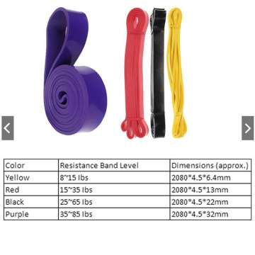 Heavy Duty Yoga Fitness Power Resist Set de banda