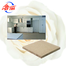 White melamine particle board