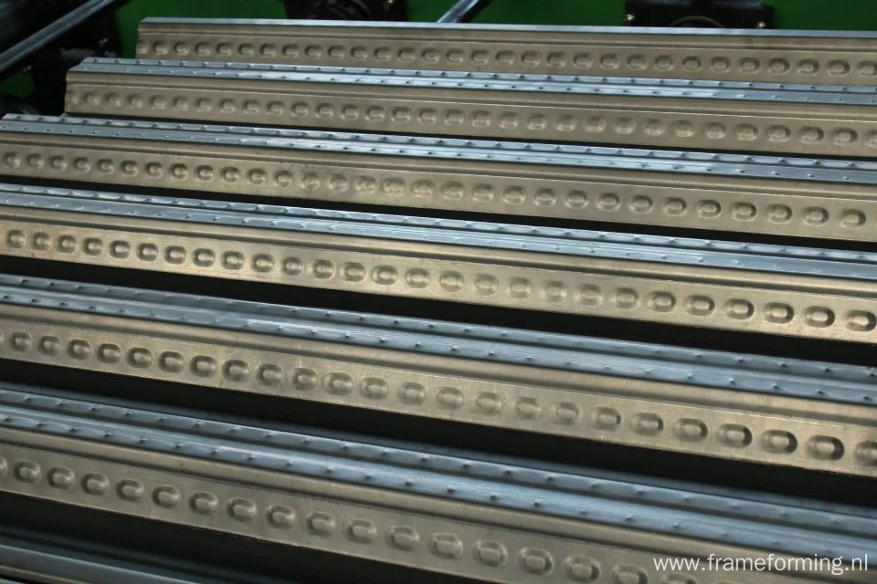 floor deck tile sheet cold roll forming machine