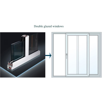UPVC Profile for Window System with Environmental Protection