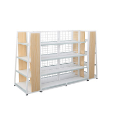 Metal Backplane Display Shelf Rack