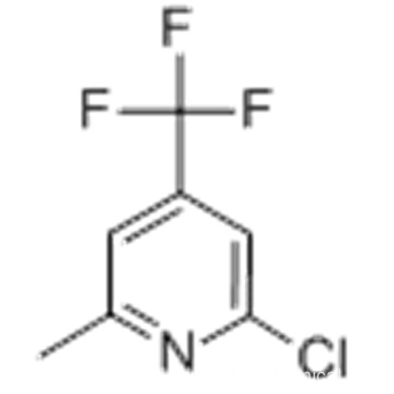 Pyridine,2-chloro-6-methyl-4-(trifluoromethyl)- CAS 22123-14-4