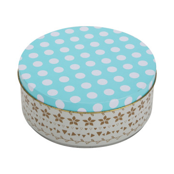 Tin Cake Box Home Kitchen Storage