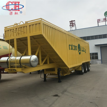 Van Bulk Soybean Corn Transport Semi-trailer