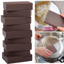 1 Pcs/5pcs Alumina Emery Strong Magic Sponge Cleaning Brush Dish Bowl Washing Sponge Kitchen Pot Pan Window Glass Cleaner Tools