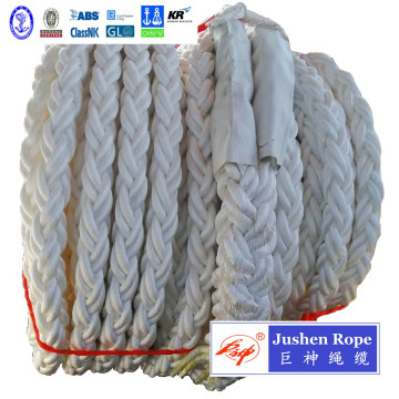 Custom Durable Braided PP Mooring Rope for Dock