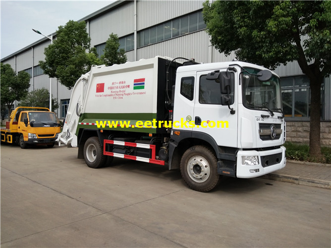 190hp Waste Compactor Vehicles