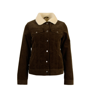 High Quality Women's Fashion Oversize Corduroy Jacket