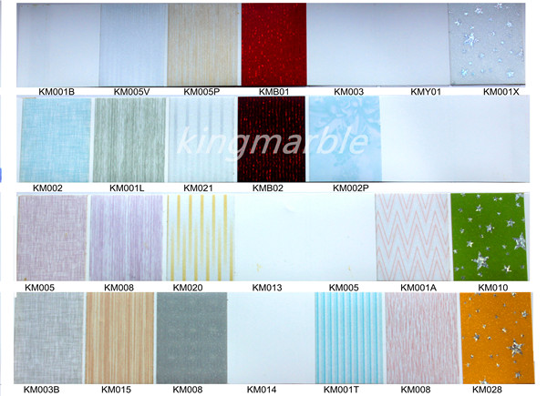 pvc decoration board on cabinet and furniture surface
