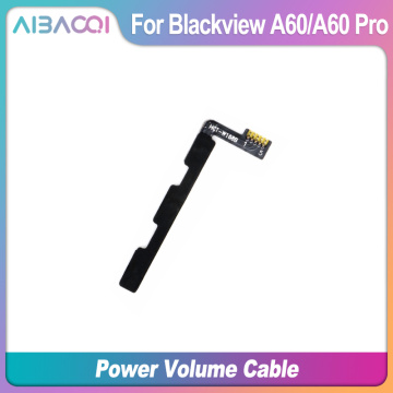 AiBaoQi New Original Main Blackview A60 power on/off+ volume FPC Key up/down button flex cable FPC For Blackview A60 Pro Phone