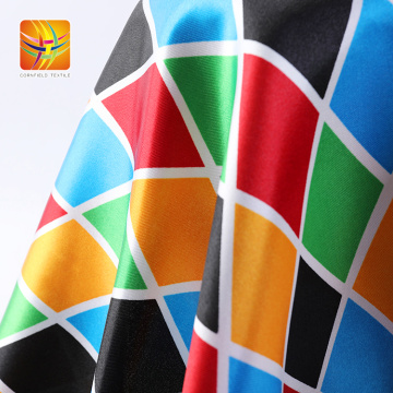 100% Polyester Printed Fabric For Garment And Curtain
