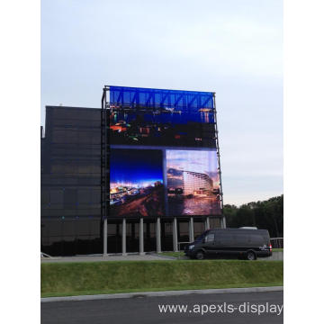 EMC outdoor curtain led display