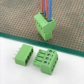 3.5mm pitch PCB 4 way contact terminal block