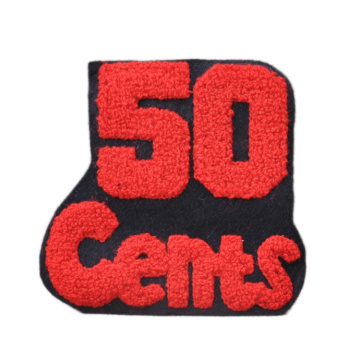 Custom Chenille Embroidery patches Garment