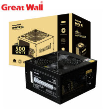 Great Wall PC Power Supply 500W 12V ATX PSU Source Computer Power Supplies APFC 120mm Silent Fan Power Supply Unit For PC