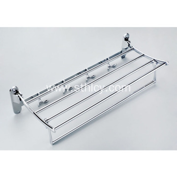 Stainless Steel Bath Towel Shelf Folded Towel Rack