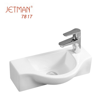 Newest Product Hot Design Art Bathroom Wash Basin For Bangladesh