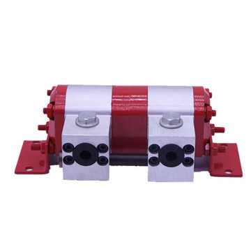 flow divider with relief valve