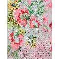 Polyester Digital Printed Long Dress Chiffon Stock Fabrics