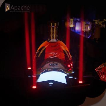 LED Acrylic Wine Display Base For Bar
