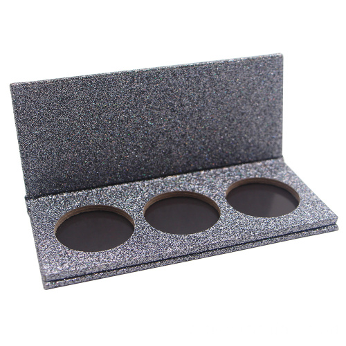 Magnetic makeup powder packaging solution
