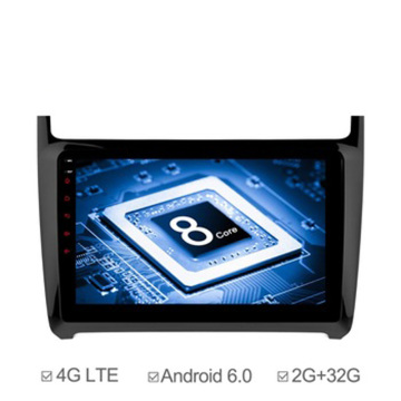 9inch Android 6.0 Car GPS Navi for Polo
