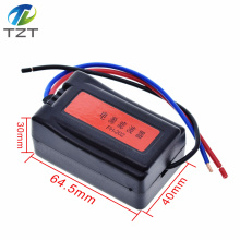 1Pc DC 12V Power Supply Pre-wired Black Plastic Audio Power Filter for Car VEA22P Filtering For Audio DIY