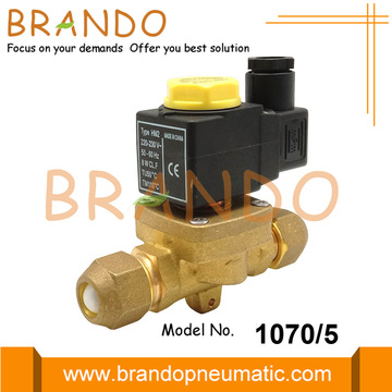 1070/5 220/230V Castel Type Solenoid Valve For Refrigeration