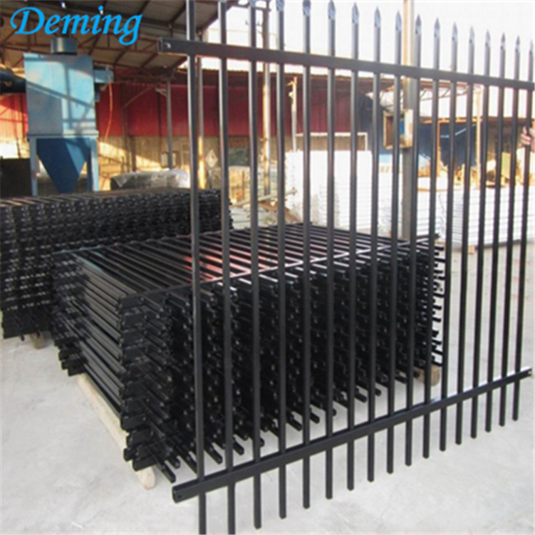 PVC Coated High Quality Welded Zinc Steel Fence