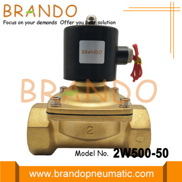 DN50 2 Inch Brass Electromagnetic Water Valve