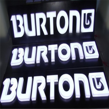 Outdoor LED Embedded Acrylic Letters Signs