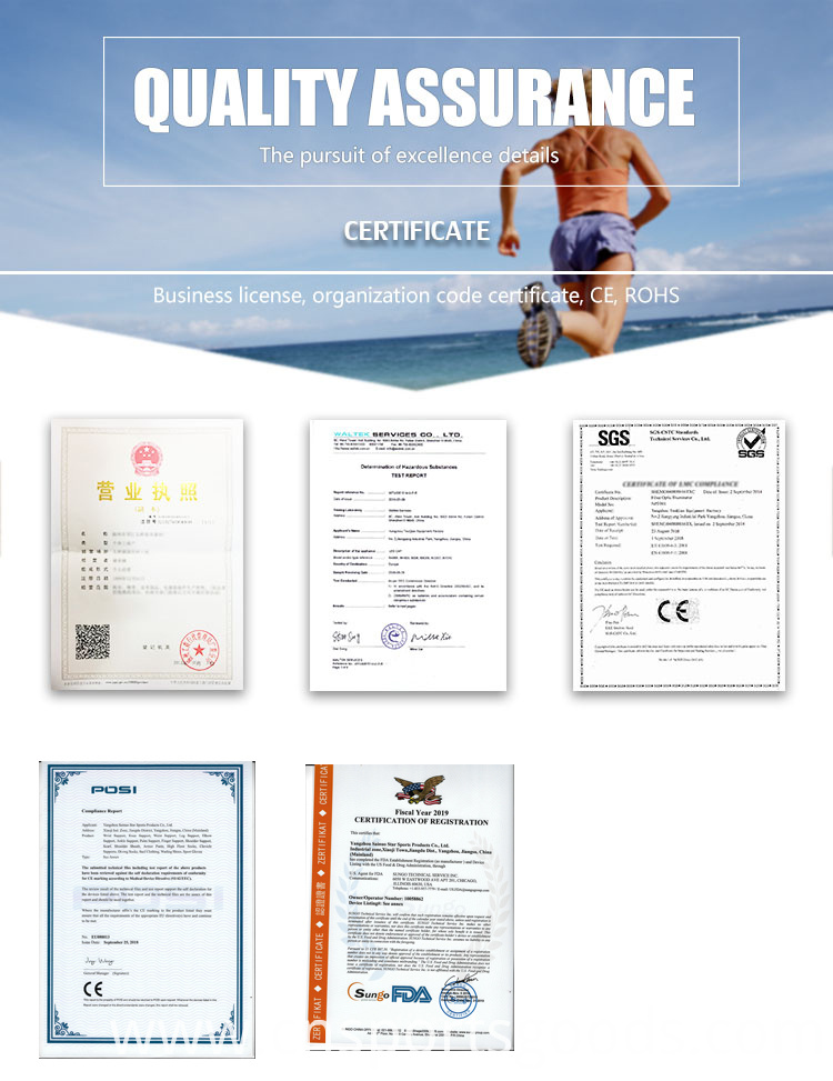 certificate of Surfing Suit