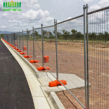 AS 4687 standard 2.4x2.1m size temporary fence
