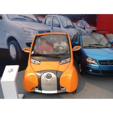 Hybrid car with electric power