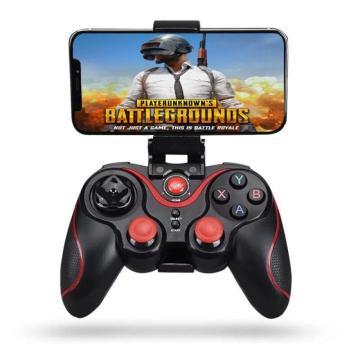 Ergonomic Design Wireless Joystick Gamepad Game Controller Bluetooth BT3.0 Joystick For Mobile Phone Tablet TV Box Holder