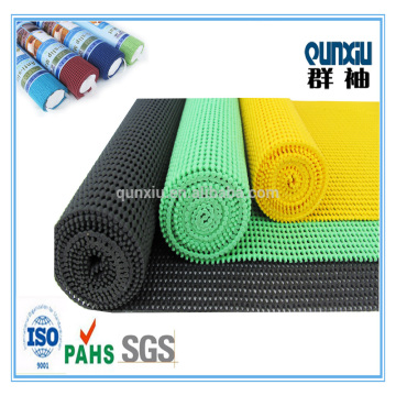 pvc foam carpet underlay mat/black roll