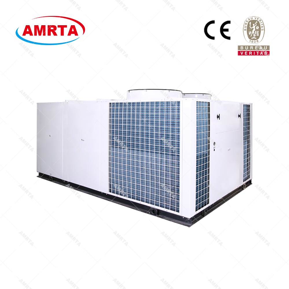 Customized Free Cooling Rooftop Packaged Air Cooled Chiller
